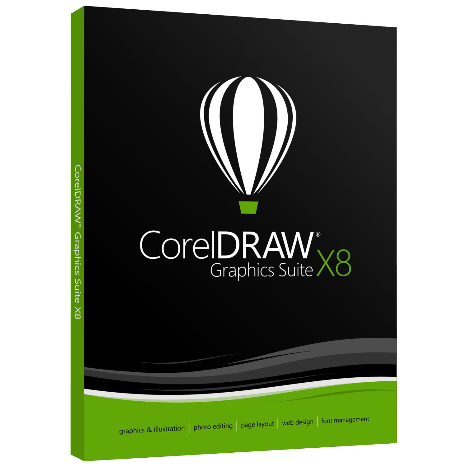 دانلود کرک CorelDRAW Graphics Suite X8 v18.450 x86/x64 – کورل دراو